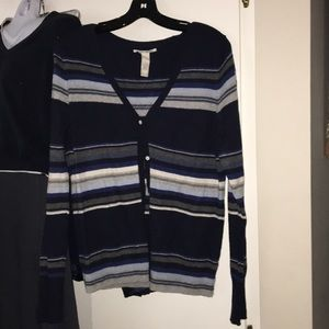 EUC. Lucky Brand wool and Cotton sweater cardigan